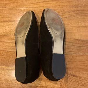 Nine West Shoes - Nine West Black Suede Tassel Loafers